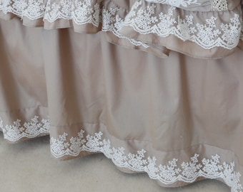 Ruffled Bed Skirt Etsy