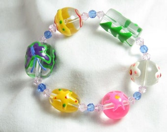 Clearly Spring Bracelet