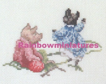 cross stitch beatrix potter pigling bland  CHART INSTRUCTIONS ONLY lakeland artist new