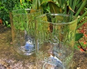 Glasses made from Atlas Mason jars (set of 2)