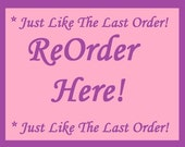 ReOrder Here - White Cotton Custom Printed Labels / Sew in Clothing labels / Personalized Fabric Labels - For Crochet, Knit, Sewing