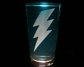 Wonder Bolts Female Emblem - Pint Glass