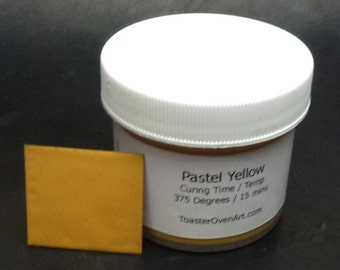 Pastel Yellow Powder Paint