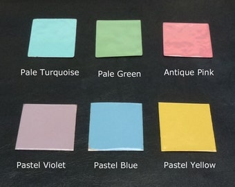 Pastel Colors Powder Coating Collection