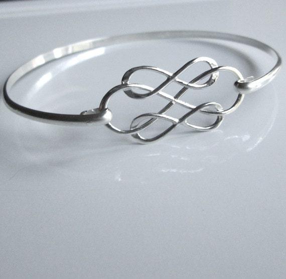 triple infini bracelet infini argent bracelet sterling. Black Bedroom Furniture Sets. Home Design Ideas