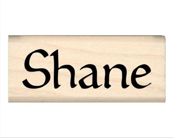 Name Rubber Stamp for Kids  - Shane