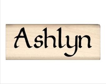 Name Rubber Stamp for Kids  - Ashlyn