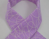 Purple Padded Camera Strap Cover