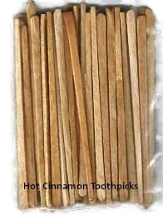 Hot Cinnamon Toothpicks Flavored Toothpicks ! Best Sellers!