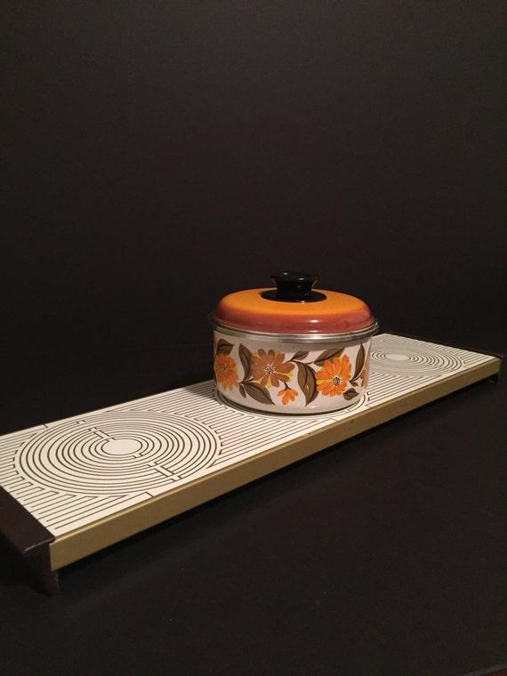 vintage three plate warmer three burner warm o tray electric. Black Bedroom Furniture Sets. Home Design Ideas
