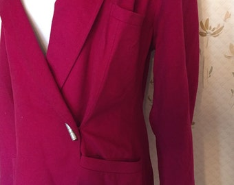 1980's Loose Fitting Giani Versace Pink Blazer