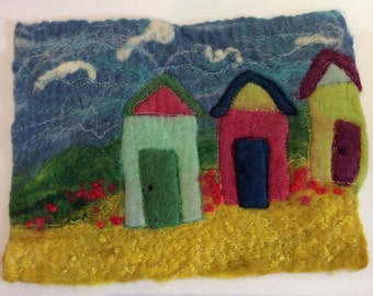 Felt Beach Hut Picture