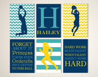 volleyball basketball running girl sports room decor volleyball girls art basketball. beautiful ideas. Home Design Ideas