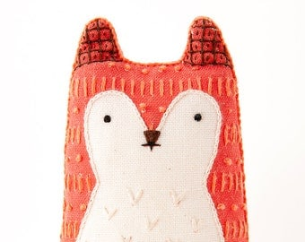Fox - Embroidery Kit