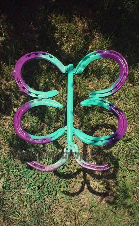 Butterfly yard decor butterfly garden decor by for Butterfly lawn decorations