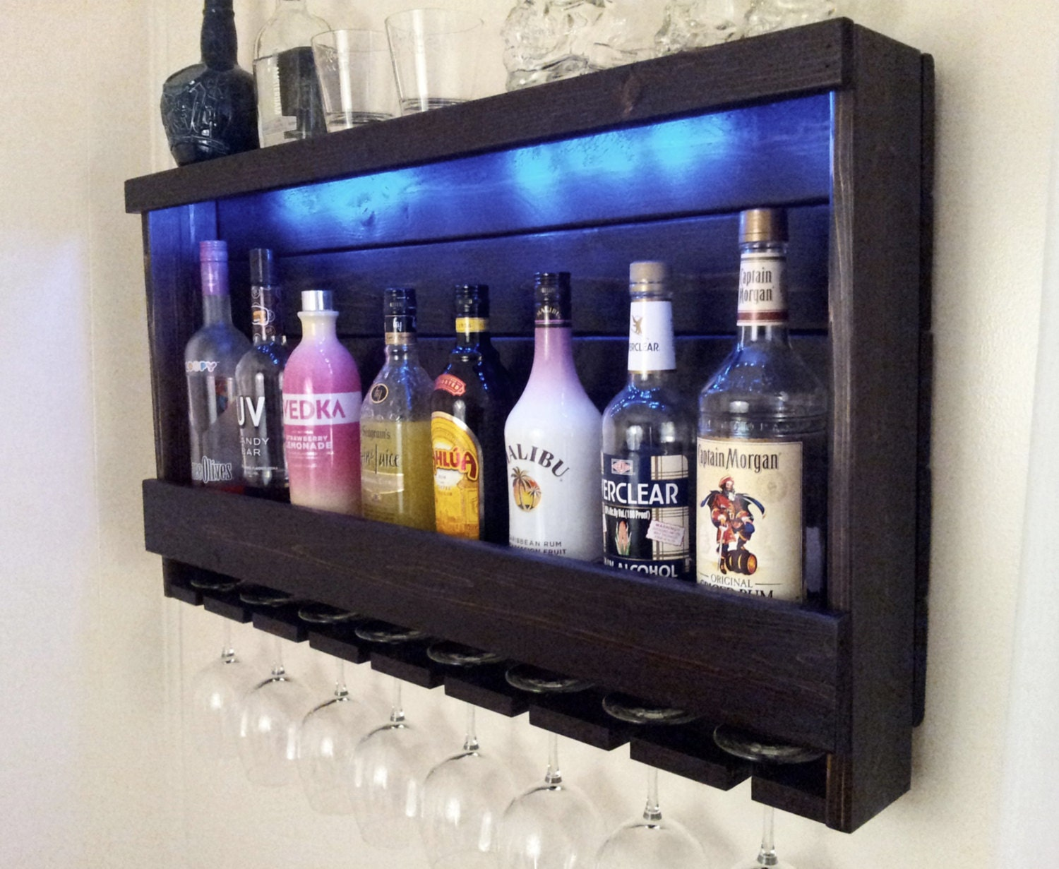 wine rack rustic liquor cabinet with optional red by cedaroaks. Black Bedroom Furniture Sets. Home Design Ideas