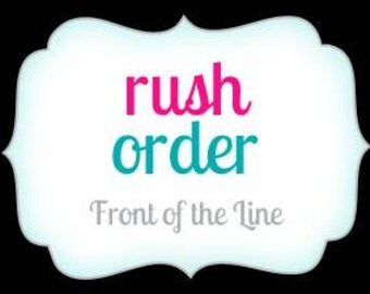 Express Rush My Order! - Get It Within 5-7 Business Days