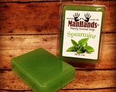Spearmint Scented Soap 3 oz. Bar