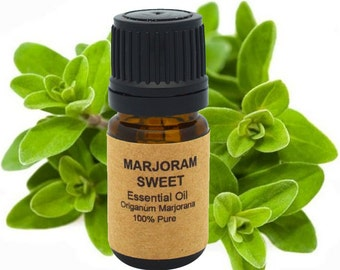 Marjoram Essential Oil (Sweet) 5ml, 10 ml or 15 ml