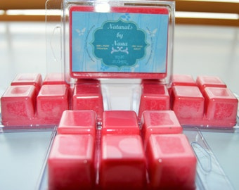 Pink Sugar 100% Soy Wax Melts Wonderful Fragrance 6- Melts Per Pack Available In Over 700 Fragrances Great For Use In Electric Wax Melter