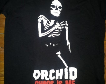 ORCHID Chaos Is Me t-shirt (hardcore, screamo band)