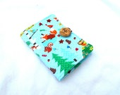 Kawaii Forest Tea Wallet - Tea Bag Wallet Deer Fox