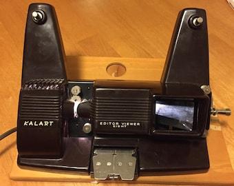 1950's Kalart Bakelite Mod EV-8 8mm Movie Film Editor