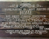RESERVED for Mickenzie...CUSTOM hand-painted wooden SIGN
