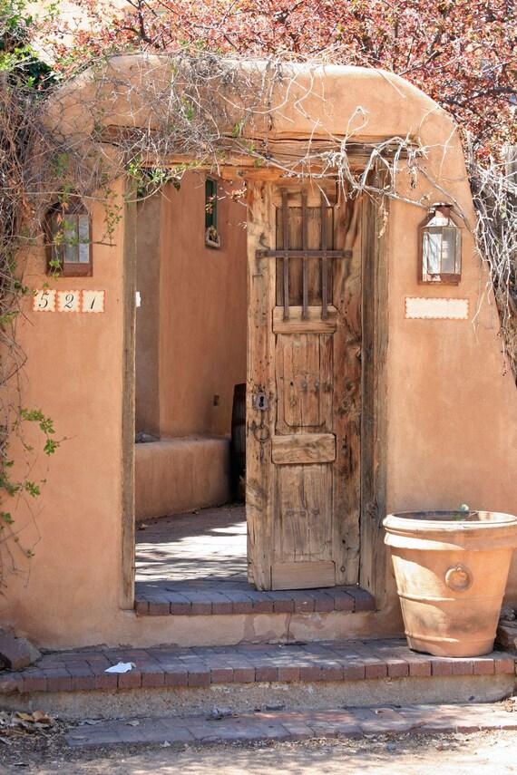 Door photography open santa fe new mexico wall art