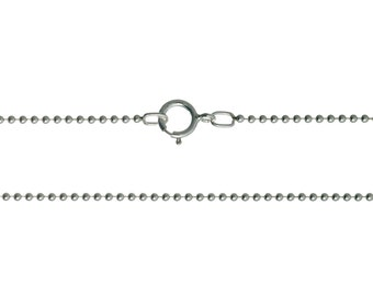 20 Inch Sterling Silver Ball Chain_1 - 25 PCS