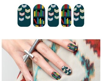 Read Between the Lines  - Nail Wraps (Set of 22)
