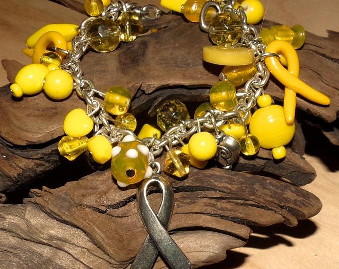 Yellow Awareness Bracelet
