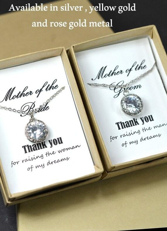 Wedding Gift Ideas For Mother Of Groom : ... Groom Gift, Mother of the Bride Gift, Wedding Necklace, Gift for Mom