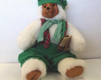 Robert Raikes Bear Santa's Elf 12 inch