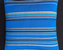 "Paul Smith ""Point"" - COBALT blue - 17""x17""  Pillow - includes feather insert"