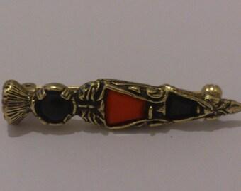 vintage Celtic brooch
