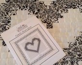Heart Quilt Pattern/ Wedding/ Family/ New Baby