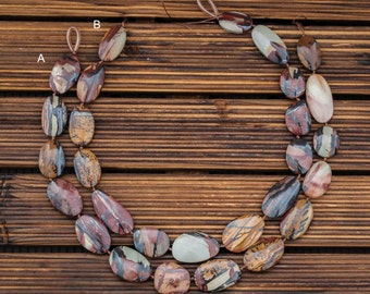 Indian Paint Jasper 14-22.5mm freeform beads (ETB00896)