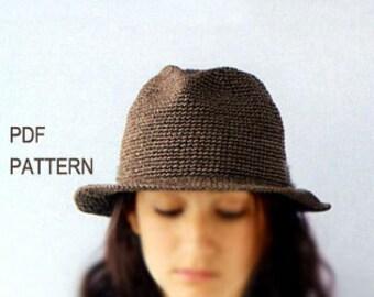 Free Crochet Pattern For Panama Hats : Crochet panama hat Etsy