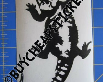 Bearded Dragon Decal/Sticker 6X4