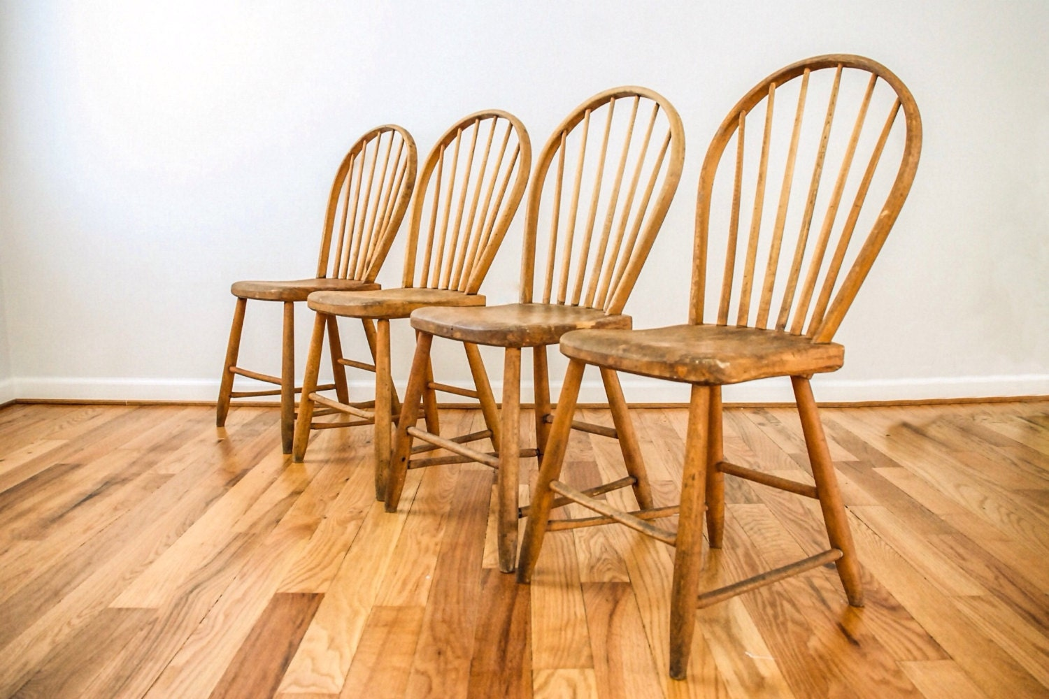 antique dining chairs, dining chairs, antique wood chairs, wood dining  chairs, wonderful rustic Windsor hoop back dining chairs, set of 4 - Antique Dining Chairs, Dining Chairs, Antique Wood Chairs, Wood