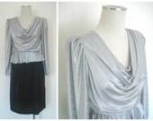 Vintage Silver and Black ...