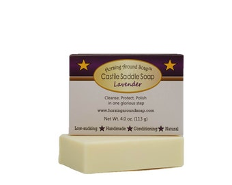 Lavender Castile Saddle Soap