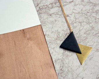 Vilmos Necklace · Geometric necklace · Minimal accesories
