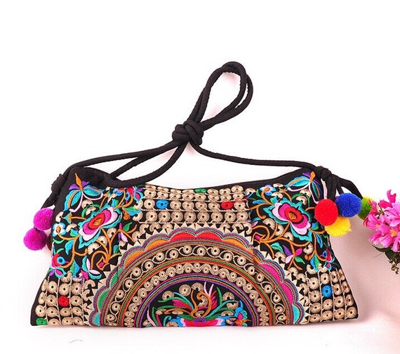 Embroidery Bag Embroidered Bag Folk Style Chinese Wind Bag