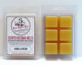 Vanilla Bean Scented Beeswax Melts for Melt-Warmers