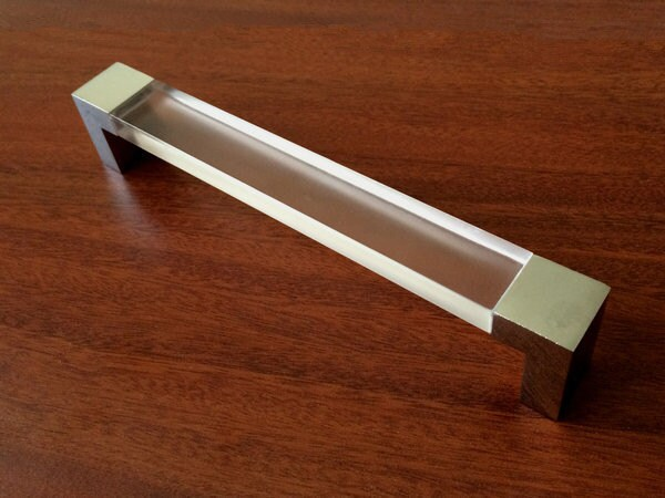6.3 Large Acrylic Dresser Pulls Drawer Pull Handles