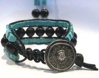 Turquoise & Onyx