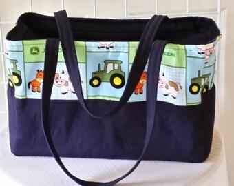 John Deere Diaper bag. Free embroidered name