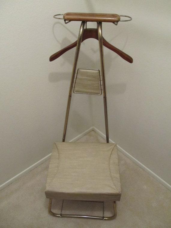mid century butler chair valet chair mid century furniture